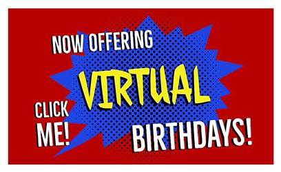 Kids Virtual Birthday Party Entertainment